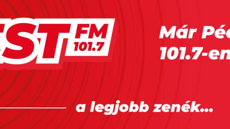 Szereted a jó zenét? Jön a 101.7 Best FM!